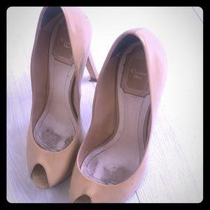 High heel Christian Dior shoes